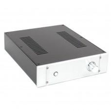 WA98 Aluminum Chassis Box Shell Case for DAC Decoder Power Amplifier 308x250x70