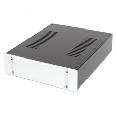WA97 Aluminum Chassis Box Shell Case for DAC Decoder Power Amplifier 308x250x70