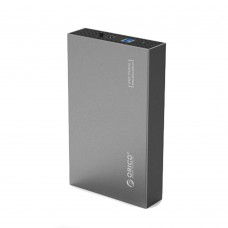 ORICO Aluminum 3.5 inch USB 3.0 to SATAIII External Hard Drive Enclosure up to 8TB 3.5 inch HDD