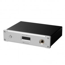 SMSL M6 HIFI Audio Decoder Headphone Amplifier 32Bit 384KHz USB Asynchronous DAC Audio AMP Silver