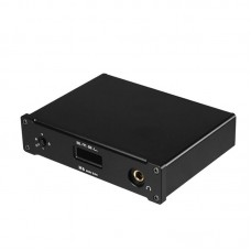 SMSL M6 HIFI Audio Decoder Headphone Amplifier 32Bit 384KHz USB Asynchronous DAC Audio AMP Black