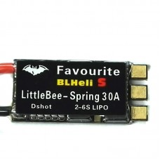 LITTLEBEE ESC 30A Blheli-s SPRING Support Oneshot DSHOT for FPV Drone Quadcopter