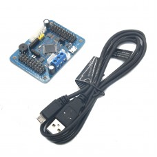 Arduino USB 20CH Servo Control Board Overcurrent Ptotection Support PS2 Handle for Robot DIY