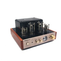 Nobsound MS-10D Tube Amplifier Stereo Audio HiFi Headphone amp Solid State 25W*2 220V