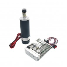 57mm Air Cooling DC Spindle Motor ER16 110V 600W with Speed Governor for CNC Router Engraving Machine