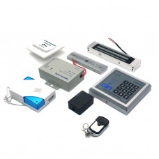 125KHz RFID ID Keyfobs One Door Access Control System Security Kit Electric Magnetic Lock