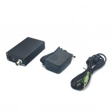 5W Stereo PLL Digital FM Transmitter Radio Broadcast Station 87MHz to 109MHz Black