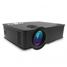 GP9 Mini LED Projector 800x480 Home Cinema Support 1080P HDMI USB SD AV 3.5mm Media Player Black