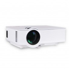 GP9 Mini LED Projector 800x480 Home Cinema Support 1080P HDMI USB SD AV 3.5mm Media Player White