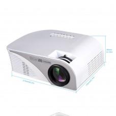 RD805B MINI Projector Video Game TV Home Theatre 3D Movie Support HDMI VGA AV SD USB Media Player White