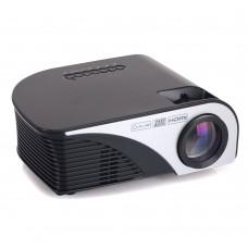RD805B MINI Projector Video Game TV Home Theatre 3D Movie Support HDMI VGA AV SD USB Media Player Black