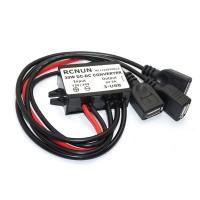 DC to DC Converter Buck Step Down Power Supply 12V to 5V 24V to 5V 6A with USB for Car Phone RCNUN