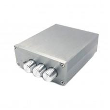 Breeze Audio HIFI Power Amplifier TPA3116 Audio AMP 2.0 50W+50W with Treble Bass Adjustment