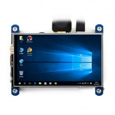4inch HDMI LCD HD 800x480 IPS Resistive Touch Screen for Raspberry Pi Arduino