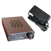 I.AM.D V200 Digital Audio Amplifier Headphone Amp 150Wx2 CM6631A 24Bit 192KHz Input USB Optical Coaxial AUX OLED Black