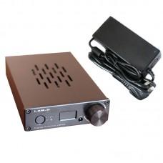 I.AM.D V200 Digital Audio Amplifier Headphone Amp 150Wx2 CM6631A 24Bit 192KHz Input USB Optical Coaxial AUX OLED Black