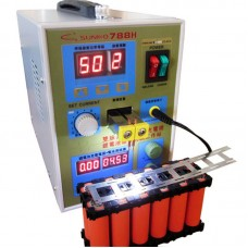 S788H LED Dual Pulse Spot Welder 110V 18650 Battery Charger 800A 0.1mm to 0.2mm