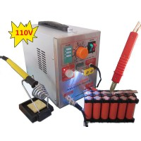 S709A 2 in 1 110V Battery Pulse Spot Welder & Soldering Station with Welding Pen 71A