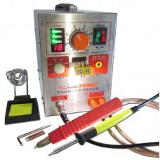 709AD 220V Pulse Spot Welder Battery Welding Soldering Machine 3in1 for 18650 with 71A Welding Pen