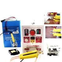 709AD 220V Pulse Spot Welder Battery Welding Soldering Machine 3in1 for 18650 with 71B Welding Pen
