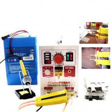 709AD 220V Pulse Spot Welder Battery Welding Soldering Machine 3in1 for 18650 with 71B Welding Pen
