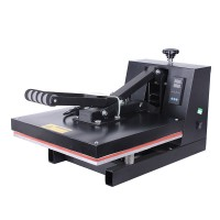 "15""x15"" Clamshell Heat Press T Shirt Digital Transfer Sublimation Machine High Pressure"