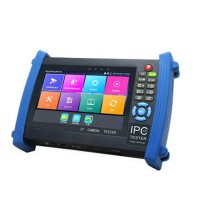 IPC8600Plus IP Camera 7 inch Touch Screen CCTV Tester POE Test PTZ Control WIFI Onvif Monitor