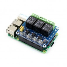 3 Channel Relay Module Expansion Board with Optocoupler Isolation for Raspberry Pi Arduino DIY
