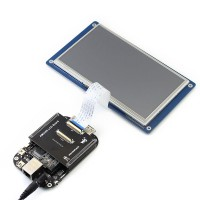 """MarsBoard AM3358 Cortex-A8 Development Board with 7"""" Resistive Touch LCD Board for Arduino"""