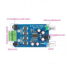 YDA138-E Digital Headphone Amplifier Board 10W+10W 2.0 Channnel Beyond TA2021 TA2020