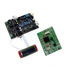 AK4495SEQ Dual Parallel Soft Control Board Support DOP DSD with XMOS U8 Subcard for Amplifier Audio