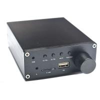 Breeze Audio TPA3116 Digital Power Amplifier TF USB MP3 WAV Music Player Car Audio AMP 2x50W