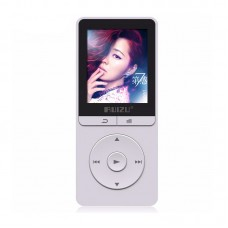 RUIZU X20 MP3 Audio Music Player 1.8 Inch Screen Play 100 Hours 8Gb with FM E-Book Clock