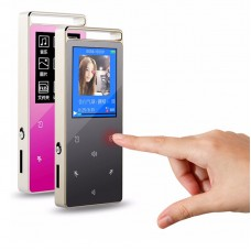 RUIZU D01 Sport HIFI MP3 8G Screen Touch Key Music Player Speaker Video Pedo Meter Recorder E-Book