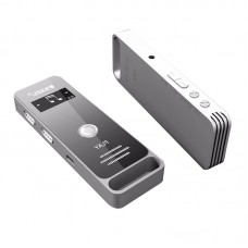 RUIZU X01 MP3 HIFI Lossless Music Player 8GB 30hours with Loudspeaker E-Book Clock