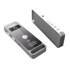 RUIZU X01 MP3 HIFI Lossless Music Player 8GB 30hours with Loudspeaker E-Book Clock