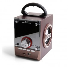 AWLE MS-18 Audio Player Speaker Bluetooth Subwoofer FM Radio Support TF U-Disk Card