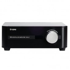 POPU D5H HIFI Audio Amplifier Class D Input AUX Coaxial Optical 150W+150W 24Bit 192KHz with Remote Controller