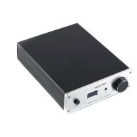 Musiland N99A HiFi 2.0 Digital Stereo Audio Amplifier Input Dual RCA AES EBU 60W+60W 24Bit 192KHz OLED Display