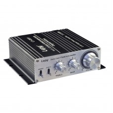 LP-2051 HIFI Digital Audio Power Amplifier Stereo Class T 50W+50W Dual Channel