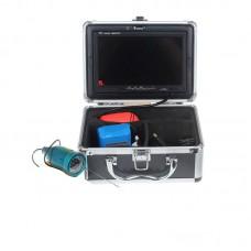 "Eyoyo Fish Finder 30m Underwater Fishing Video Camera 7"" Color HD Monitor 1000TVL IR LED Updated"