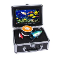 "Eyoyo Fish Finder 30m Underwater Fishing Video Camera 7"" Color HD Monitor 1000TVL White Light with 4Gb Updated"