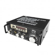 HIFI Stereo Power Amplifier Audio Player 30W+30W Dual Channel Support USB SD Card FM