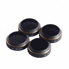 PGYTECH Lens Filters for DJI MAVIC Pro Drone G-HD-ND4 8 16 32 CPL HD Filter