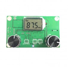 DSP PLL Digital Stereo FM Radio Receiver Module 87MHz to 108MHz with Serial Control Frequency Range 50Hz to 18KHz
