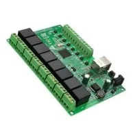 8 Channel 250V AC10A Relay Network IP Relay Web Relay Dual Control Ethernet RJ45 Interface Board Module
