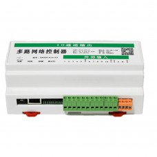 10 in 10 out 16A Network Relay Controller Support WEB TCP UDP Offline Timer Android PC