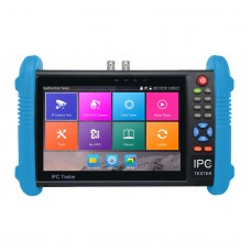 "IPC9800Plus C 7"" IP CCTV Tester Monitor IP Analog Camera Tester H.265 4K Video Testing Support ONVIF Wifi POE Android System"