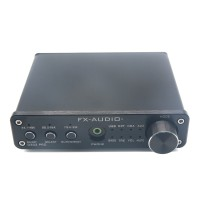 D302 Digital Amplifier 30W+30W 192k Coaxial Optical Fiber USB Sound Card Surpass TA2024 TA2021 Silvery (Amp Only)
