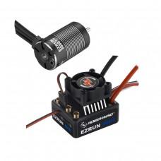 EZRUN 3660 G2 Sensorless Brushless Motor 3200KV + ESC MAX10 for 1:10 RC Car Truck